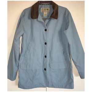 L.L. Bean Adirondack Barn Field Coat Flannel Lined